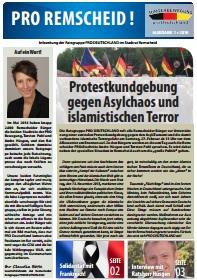 Titelseite der Infozeitung Remscheid 2016