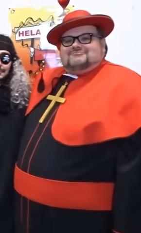 Sven Wiertz als Kardinal