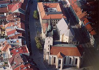 Luftaufnahme von Prešov