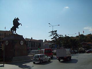 Das Zentrum der Stadt Kirsehir
