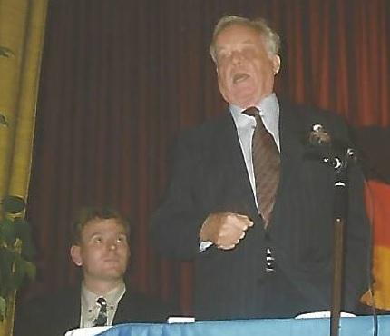 Hans Hirzel und Andre Hüsgen im Jahr 1999