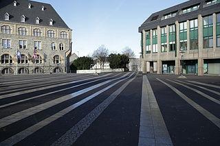 Der Theodor-Heuss-Platz von Remscheid