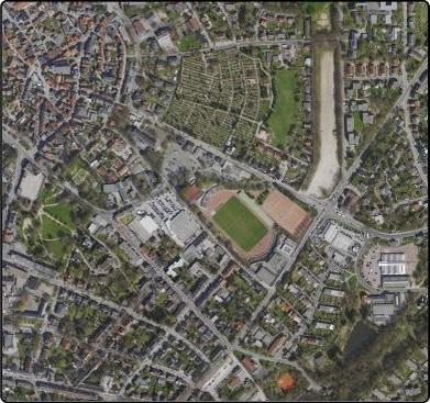 Luftaufnahme von Lennep