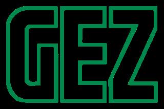 """Altes Logo der """"Gebühreneinzugszentrale"""""""