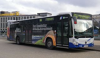 Ein Omnibus der Linie 664 der Stadtwerke Remscheid