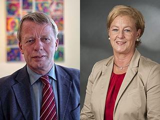 Burkhard Mast-Weisz und Michaela Engelmeier