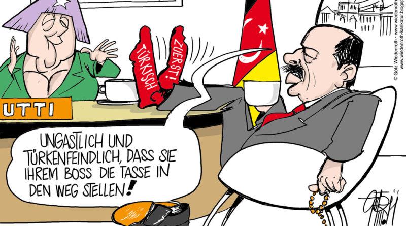 Oberbürgermeister Mast-Weisz und seine Erdogan-Krawalltürken